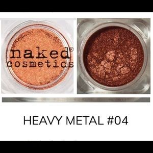 🆕 Heavy Metal Metallic Single Eyeshadow